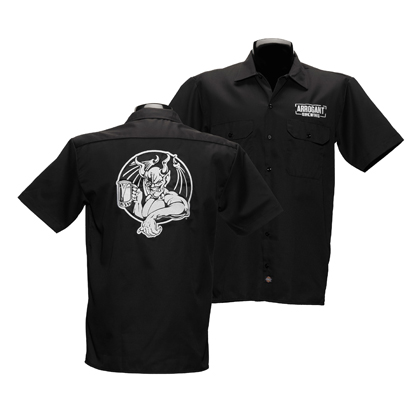 Arrogant Bastard Black Work Shirt
