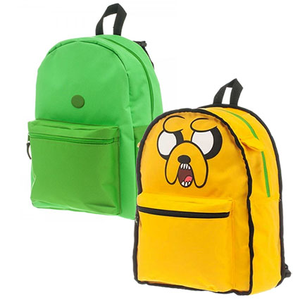 Adventure Time Jake Finn Reversible Backpack