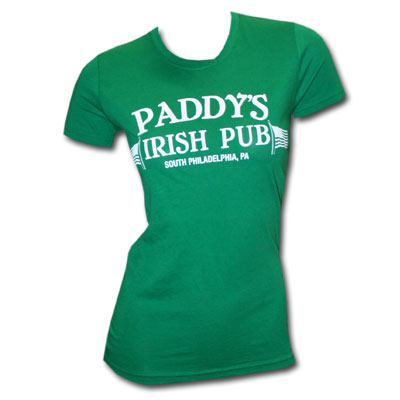 Always Sunny In Philadelphia Paddy's Irish Pub Juniors Tee Shirt
