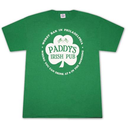 It's Always Sunny In Philadelphia Paddy's Bar Tee Shirt