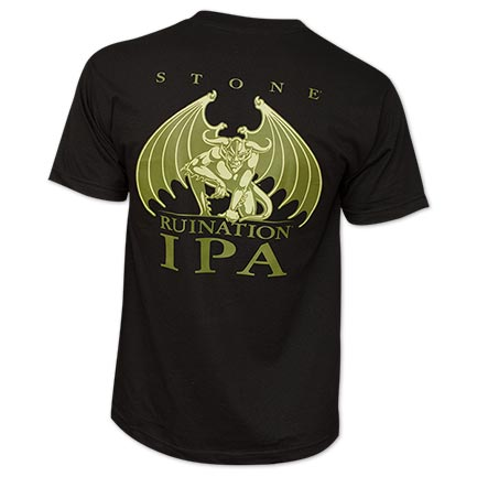 Arrogant Bastard Ruination IPA Black T-Shirt