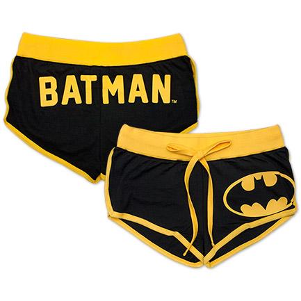 Batman Juniors Booty Shorts - Black