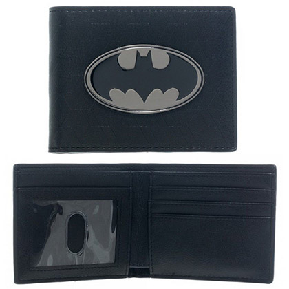 Batman Metal Badge Wallet