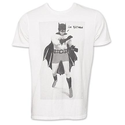 Junk Food Batman TShirt - White