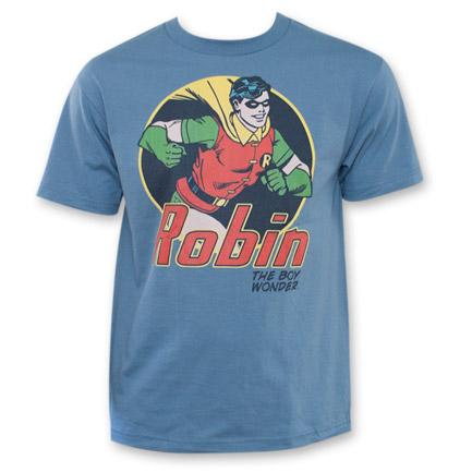 Robin Boy Wonder Shirt Blue