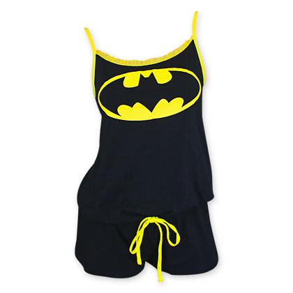 Batman Women's Black Romper