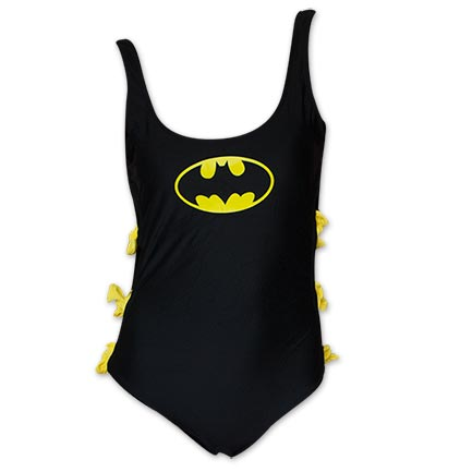 Batman One Piece Women's Bow Bathing Suit
