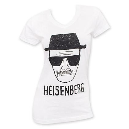 Breaking Bad Women's White Heisenberg Tee Shirt
