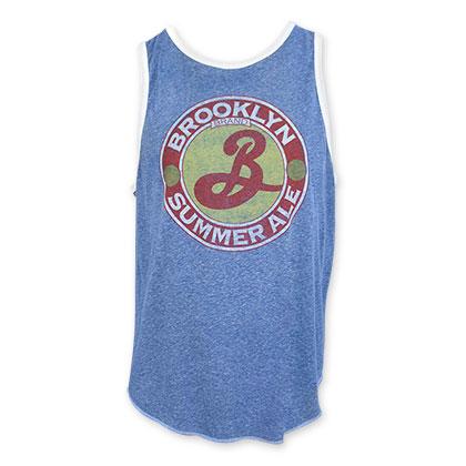 Brooklyn Brewery Summer Ale Men's Blue Tank Top