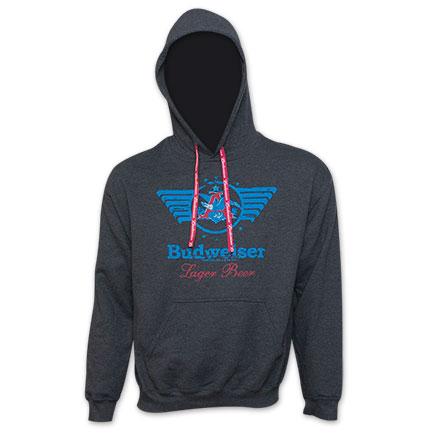 Budweiser Great American Lager Hooded Sweatshirt