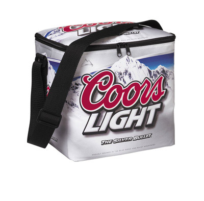 Coors Light 12 Pack Can Bottle Cooler Bag