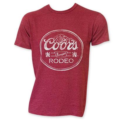 Coors Men's Red Banquet T-Shirt