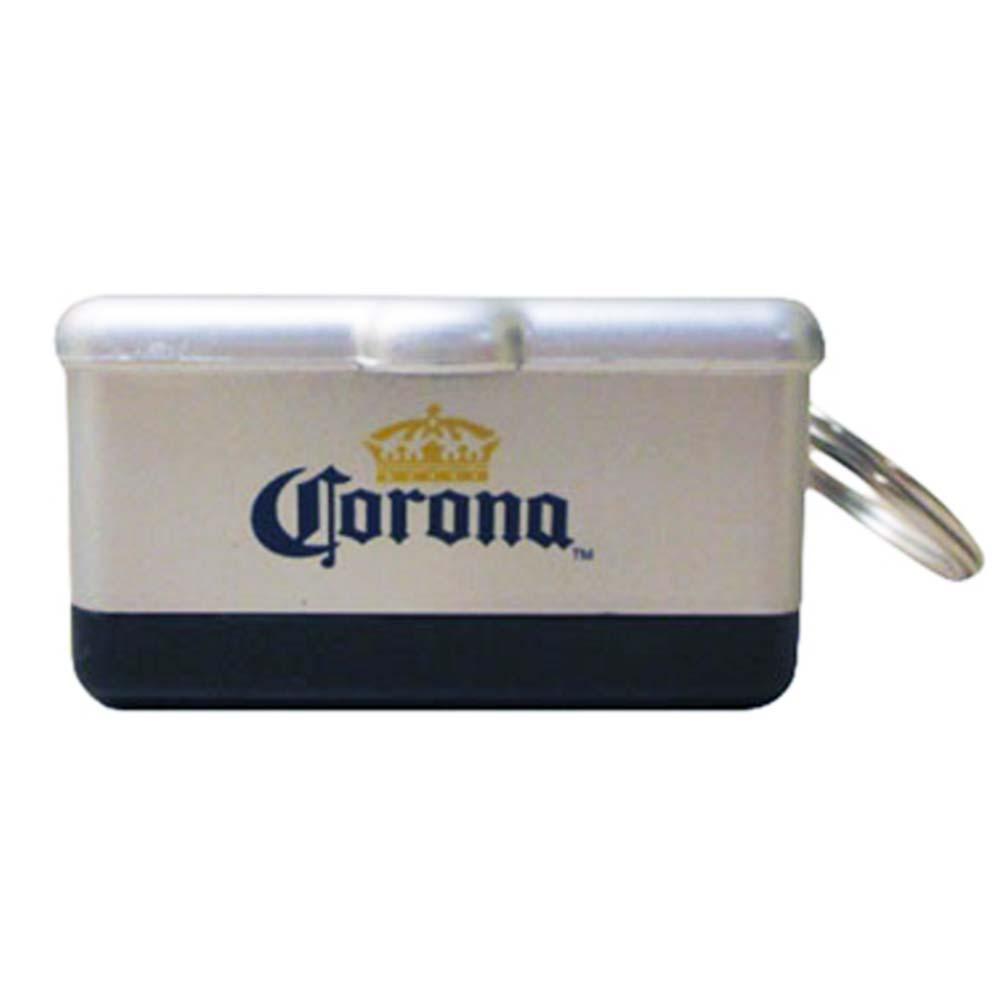 corona extra mini cooler keychain with bottle opener metallic ebay. Black Bedroom Furniture Sets. Home Design Ideas