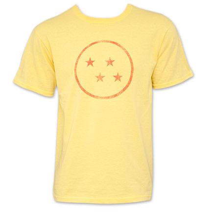 Dragon Ball Z Orange Four Star Dragon Ball T-Shirt