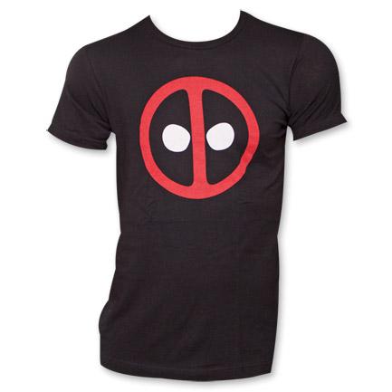Deadpool Marvel Face Logo Comics T-Shirt