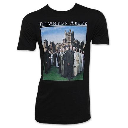 Downton Abbey Men's Logo Tee Shirt