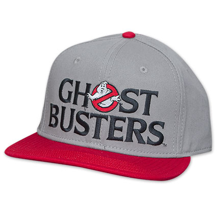 Men's Grey Ghost Busters Snapback Hat