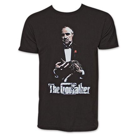 The Godfather New G TShirt - Black
