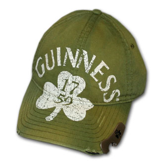 Guinness Clover Faded Green Bottle Opener Cap