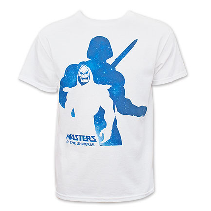 He-Man: Masters Of The Universe Men's White Shadow Masters Tee Shirt