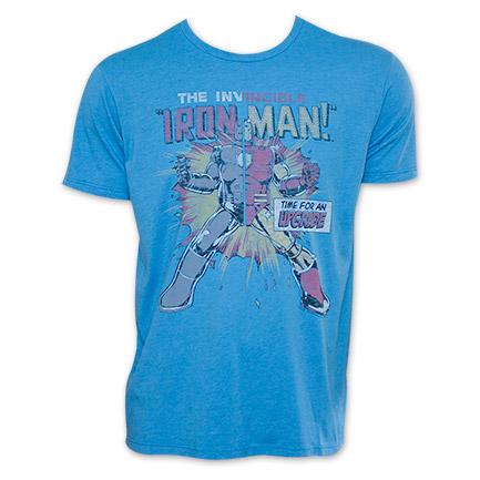 Invincible Iron Man Junk Food Clothing Upgrade Tee Shirt