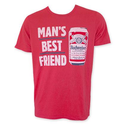 Budweiser Man's Best Friend Junk Food T-Shirt