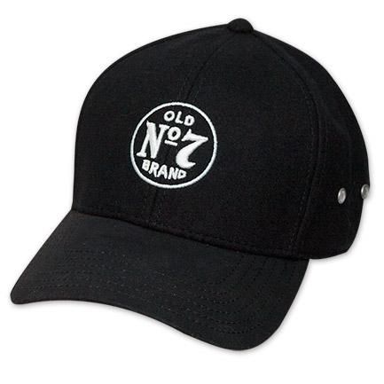 Jack Daniels Old No. 7 Logo Flex Fit Hat