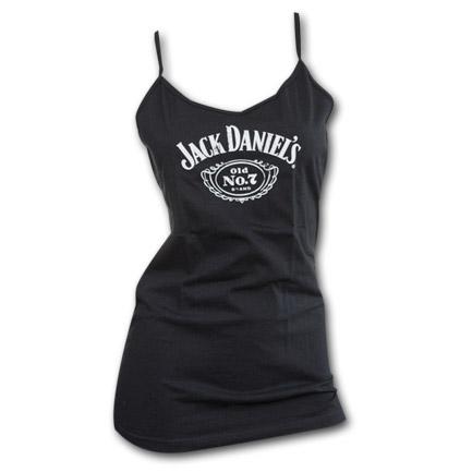 Jack Daniel's Old 7 Logo Juniors Tank Top - Black