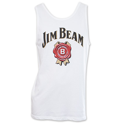 Jim Beam Tank Top - White