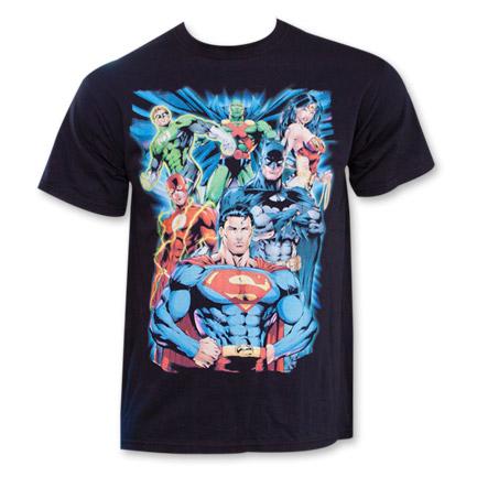 Justice League Superman Pose Shirt Black