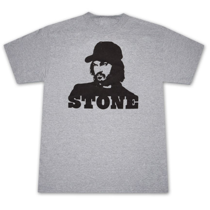 Keystone Light Keith Stone Heather Grey Graphic TShirt