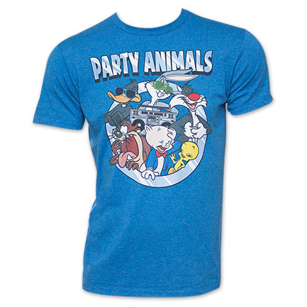 Looney Tunes Characters Shirt - Blue