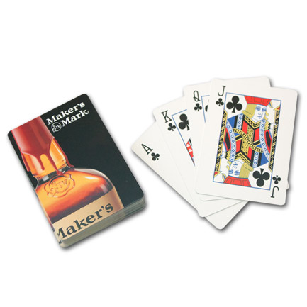 Makers Mark Logo Playing Cards