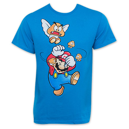 Nintendo Men's Get Offa Me Mario T-Shirt