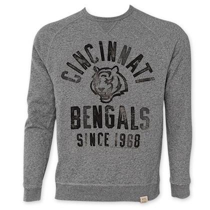 NFL Cincinnati Bengals Men's Since 1968 Junk Food Crewneck Sweatshirt