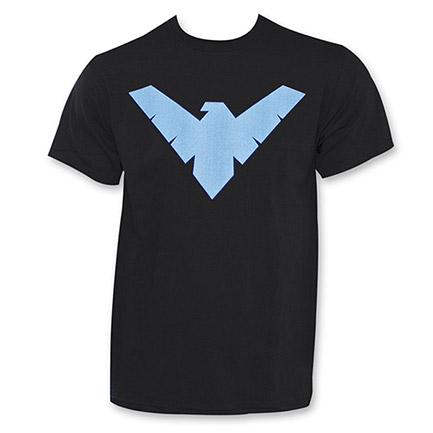Nightwing Logo Shirt Black