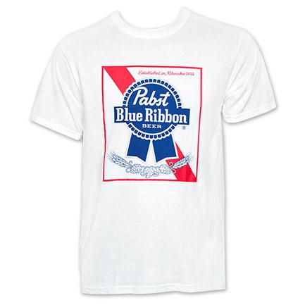 Pabst Blue Ribbon PBR Classic Logo Tshirt
