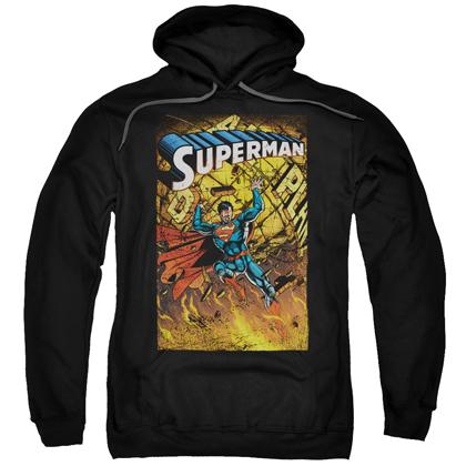 Superman Daily Planet Adult Hoodie