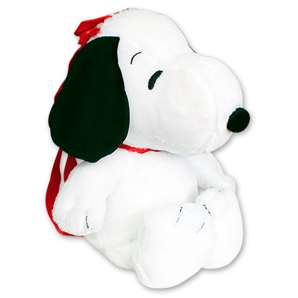Peanuts Plush White Snoopy Backpack