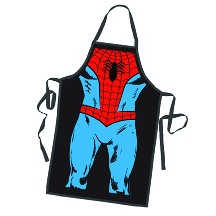 Spiderman Character Cooking Apron