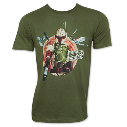 Star Wars Empire Strikes Back Boba Fett TShirt
