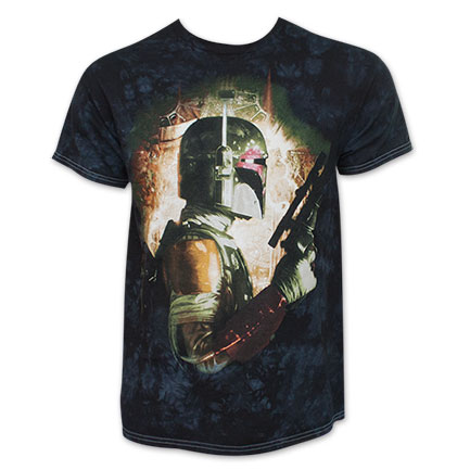 Star Wars Boba Fett Tie Dye Tee Shirt