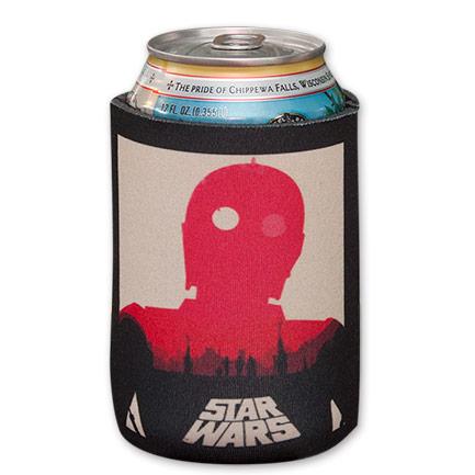 Star Wars C3PO Empire Strikes Back Beer Koozie