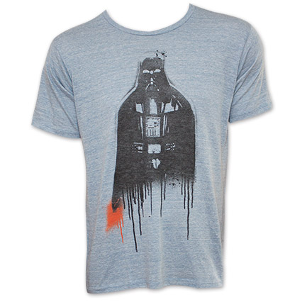 Star Wars Junk Food Vader Drip Tee - Grey