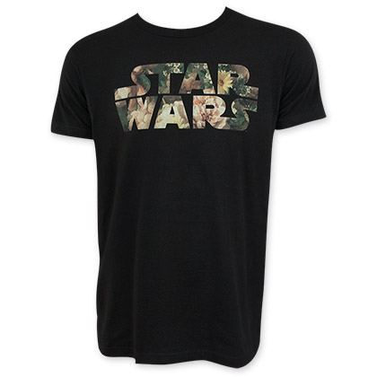 Star Wars Floral Logo Tee Shirt