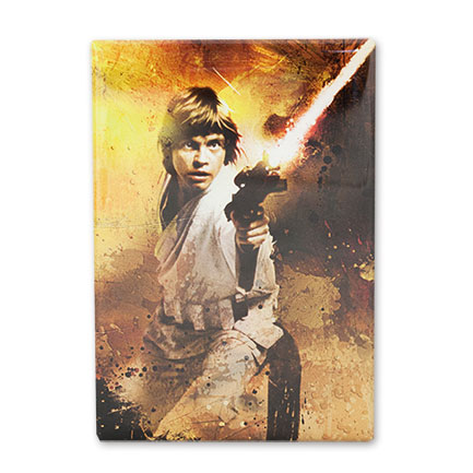 Star Wars Luke Skywalker Blaster 3.5 Inch Fridge Magnet