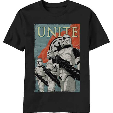 Star Wars Clone Wars Empire Unite Stormtrooper T-Shirt