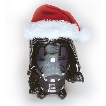 Star Wars Santa Vader Plush Toy