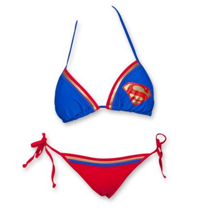 Superman Logo Bikini