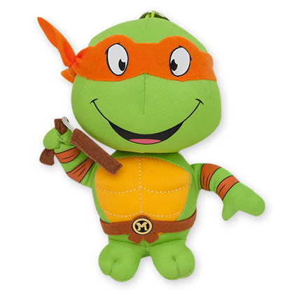 Teenage Mutant Ninja Turtles Plush Michelangelo Keychain